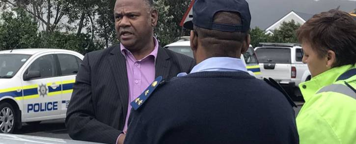 FILE: Western Cape Community Safety MEC Dan Plato in Ocean View on 22 September 2017 where residents have protested against alleged police corruption and gang violence. Picture: Kevin Brandt/EWN