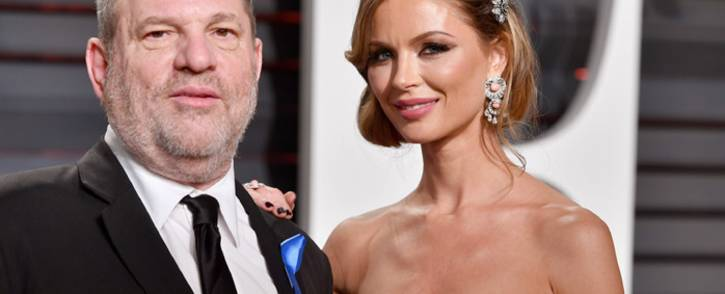 FILE: Harvey Weinstein and Georgina Chapman at the 2017 Vanity Fair Oscar party. Picture: AFP