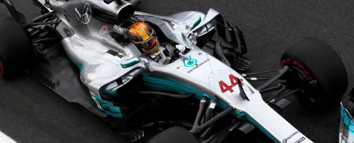 FILE: Mercedes' Lewis Hamilton during practice at Monza, Italy. Picture: @F1/Twitter