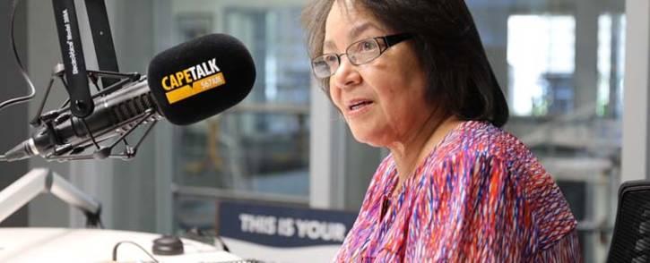 FILE: Cape Town Mayor Patricia de Lille. Picture: CapeTalk.