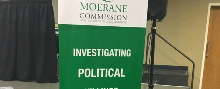 FILE: The Moerane Commission of Inquiry is investigating political killings in KwaZulu-Natal. Picture: Ziyanda Ncgobo/EWN.