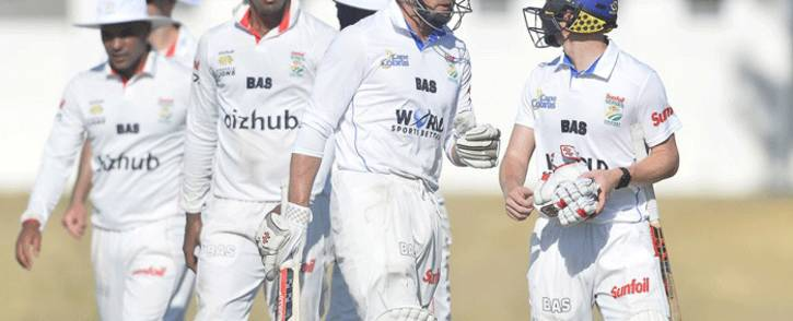 The Cape Cobras walked away with 11.2 points and the Titans 10.8. following the match at the weekend. Picture: @CobrasCricket/Twitter.