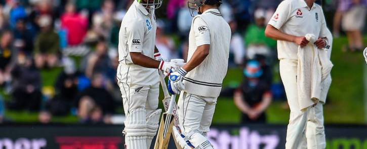 Ish Sodhi and Neil Wagner help New Zealand secure a series victory over England on 3 April 2018. Picture: Blackcaps Facebook page