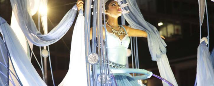 The Cape Town Carnival boasts colorful and lively floats. Picture: Cindy Archillies/EWN.