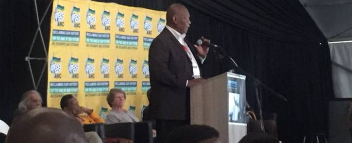 Wally Serote gives opening address at the ANC stalwarts consultative conference. Picture: Clement Manyathela/EWN