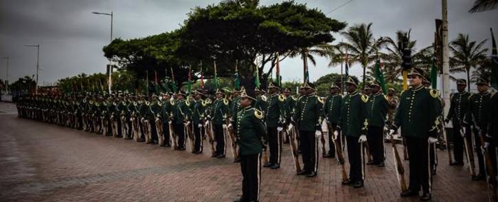 FILE: SANDF ceremonial and marching band members on parade. Picture: Thomas Holder/EWN