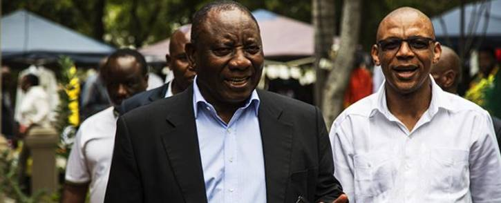 FILE: President Cyril Ramaphosa arriving for the ANC NEC special meeting. Picture: Kayleen Morgan/EWN