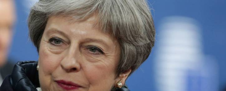 FILE: British Prime Minister Theresa May. Picture: AFP