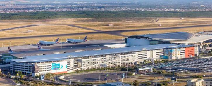A general view of Cape Town International Airport. Picture: @WesternCapeGov/Twitter.