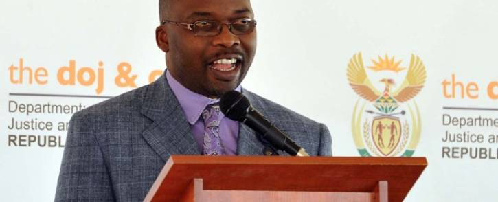 Justice minister Michael Masutha last week published the state capture commission of inquiry regulations which will pave the way for the commission to be formally constituted and start its work. Picture:  Picture: GCIS.