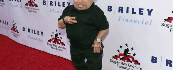 """File: Verne Troyer attends B. Riley & Co. and Sugar Ray Leonard Foundation's 7th Annual """"Big Fighters, Big Cause"""" Charity Boxing Night at Dolby Theatre on 25 May, 2016 in Hollywood, California. Picture: AFP."""