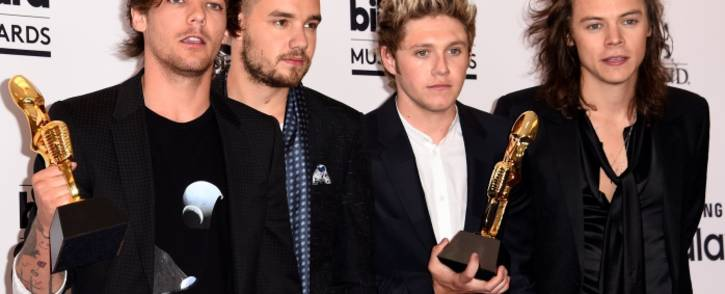 FILE: Louis Tomlinson, Liam Payne, Niall Horan and Harry Styles of the boy band One Direction. Picture: AFP.