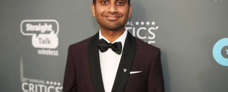 Actor Aziz Ansari at the 23rd Annual Critics' Choice Awards on 11 January 2018. Picture: Getty Images North America/AFP