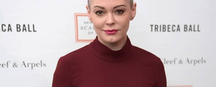 FILE: Actress Rose McGowan. Picture: AFP.