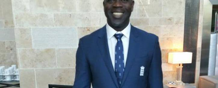 England bowling coach Ottis Gibson. Picture: @OdgibsonOttis/Twitter