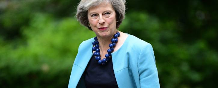 Theresa May. Picture: AFP.