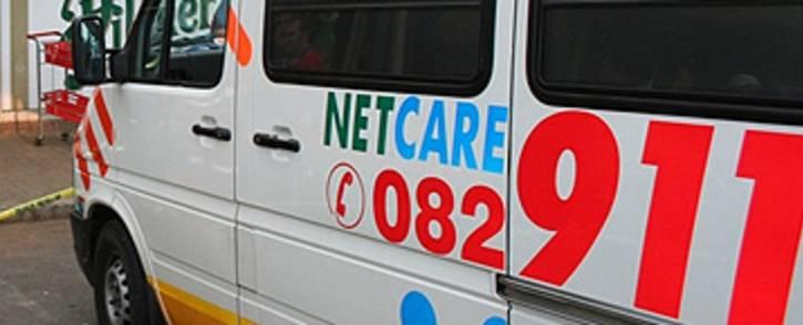 Netcare 911 ambulance. Picture: Netcare 911
