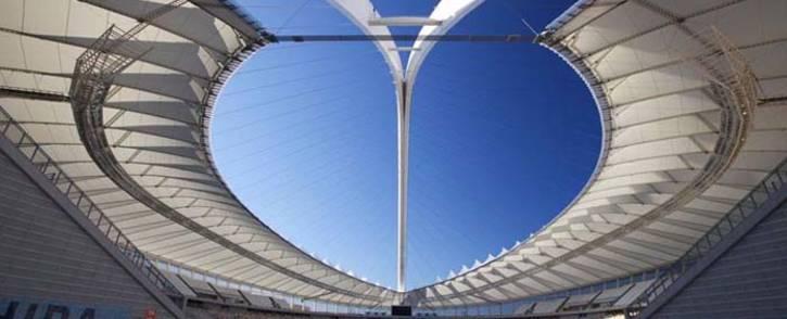 A general view of Moses Mabhida Stadium in Durban, KwaZulu-Natal. Picture: Facebook.com.