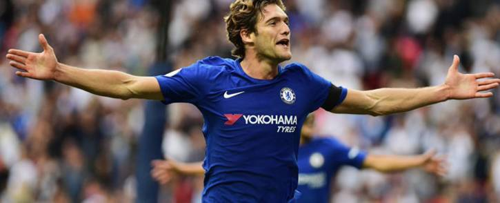 Chelsea's Marcos Alonso. Picture: @ChelseaFC.