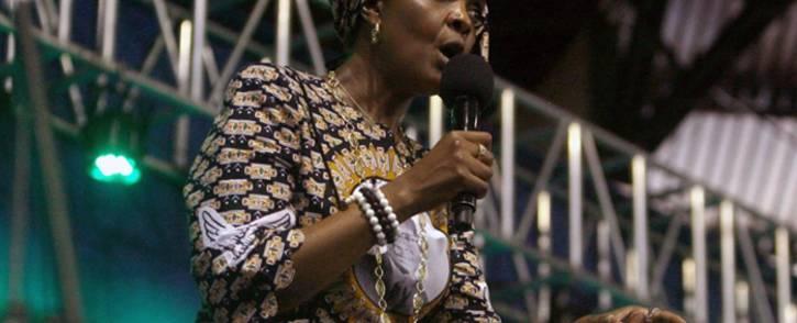 FILE: FILE: Former Zimbabwean first lady Grace Mugabe. Picture: AFP.