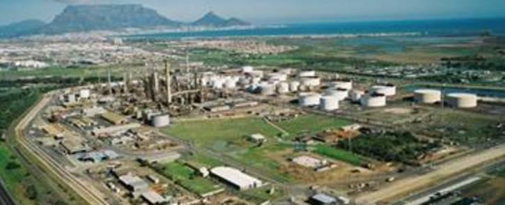 FILE: An aerial picture of the Chevron refinery in Milnerton, Cape Town. Picture: Chevron