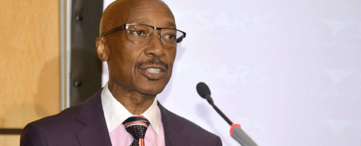 FILE: Tom Moyane, the South  African Revenue Service (Sars) commissioner. Picture: GCIS