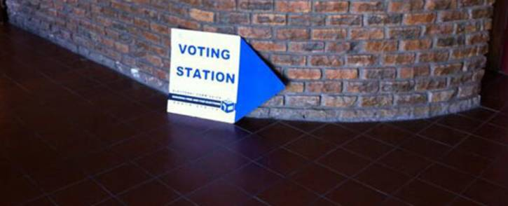 A voting station at the Milnerton Baptist Church in Cape Town. Picture: Siyabonga Sesant/EWN