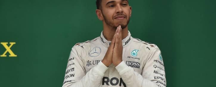 Lewis Hamilton. Picture: AFP.