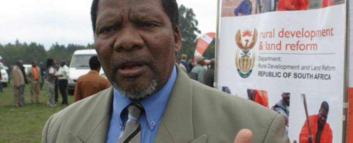 Rural Development and Land Reform Minister Gugile Nkwinti. Picture: Ruraldevelopment.gov.za.