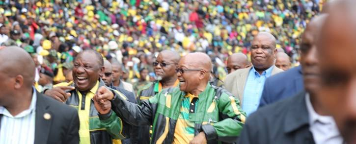 FILE: President Jacob Zuma (right) and Deputy President Cyril Ramaphosa (left). Picture: Christa Eybers/EWN