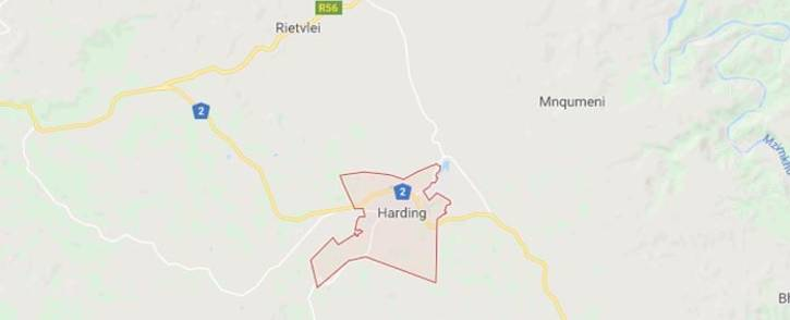 A screengrab of a map showing Harding in KwaZulu-Natal. Picture: Google Maps.