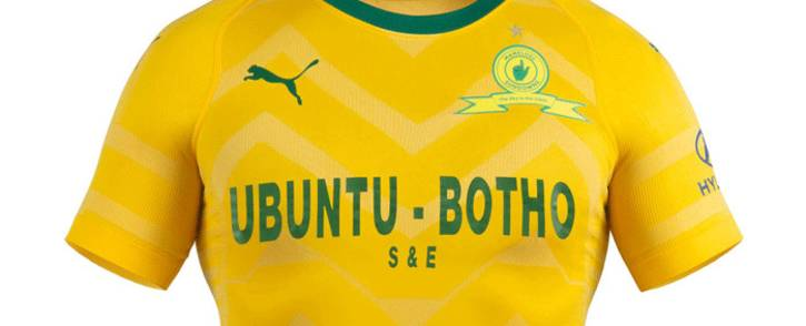 Mamelodi Sundowns new Puma home kit. Picture: Puma SA