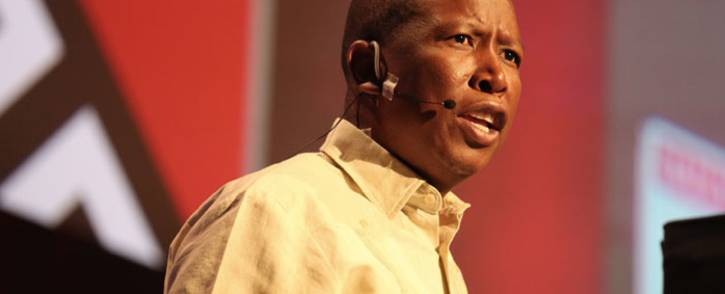 EFF leader Julius Malema at The Gathering ANC elective conference edition on 23 November 2017. Picture: Christa Eybers/EWN.