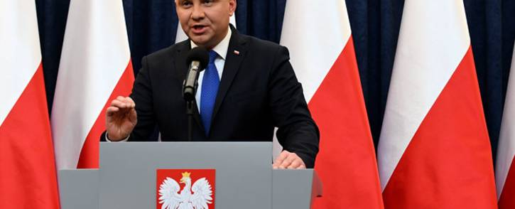Poland president Andrzej Duda. Picture: AFP