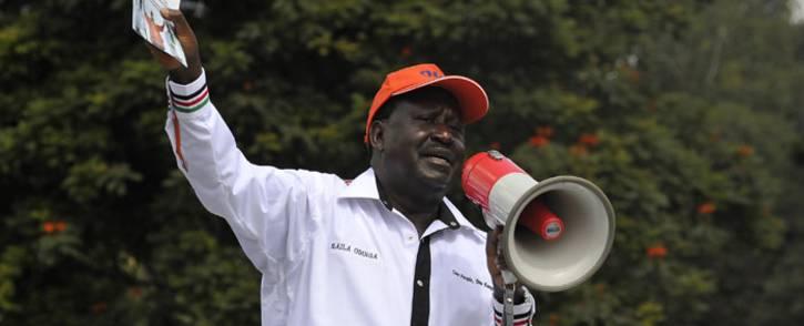FILE: Kenyan opposition leader Raila Odinga. Picture: AFP.