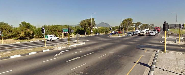 FILE: Jakes Gerwel Drive at the Mitchells Plain intersection. Picture: Google Earth