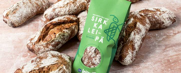 Fazer Food's insect-based bread. Picture: fazergroup.com