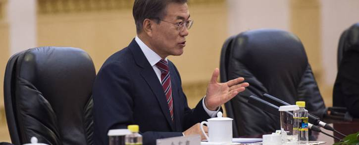 FILE: South Korean President Moon Jae-in. Picture: AFP