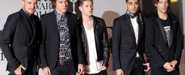 One Direction. Picture: AFP.
