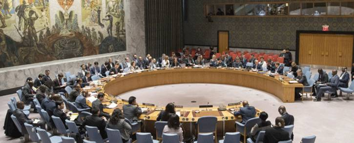 A general view of the UN Security Council as it meets on 9 January 2018, to consider the situation in the Democratic Republic of the Congo. Picture: United Nations.