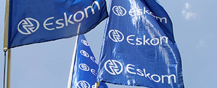 FILE: Eskom flags at Megawatt Park in Johannesburg. Picture: Taurai Maduna/EWN