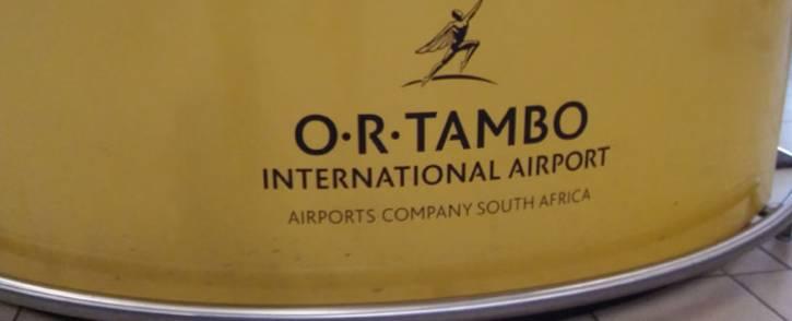 FILE: OR Tambo International Airport. Picture: Winnie Theletsane/EWN
