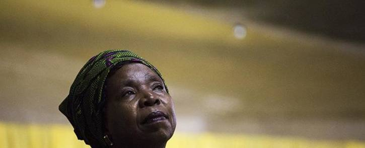 African National Congress (ANC) presidential nominee Nkosazana Dlamini Zuma on 5 December 2017. Picture: Sthembiso Zulu/EWN