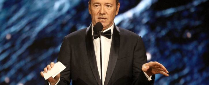 Kevin Spacey at the 2017 AMD British Academy Britannia Awards on 27 October 2017. Picture: AFP.