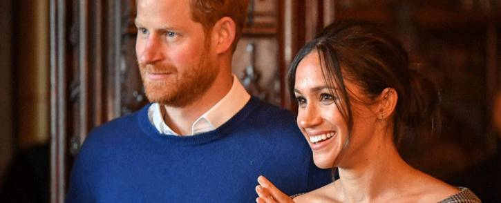 FILE: US actress and humanitarian Meghan Markle and Prince Harry. Picture: @KensingtonRoyal/Twitter.