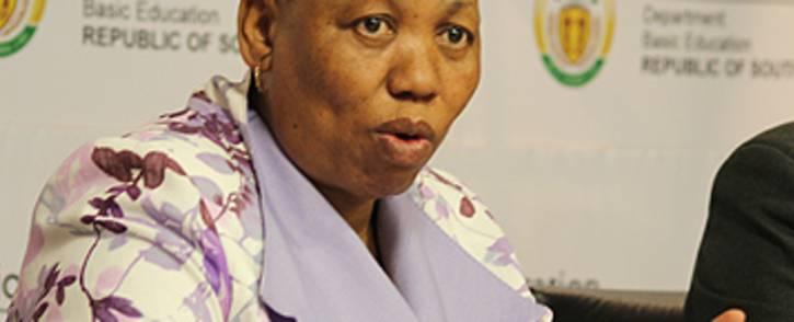 Basic Education Minister Angie Motshekga. Picture: EWN