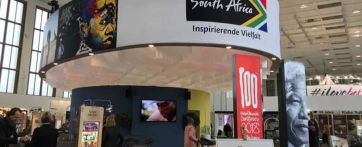South Africa showcases its tourism abilities at the International Travel Trade Show in Berlin. Picture: @sisantshona/Twitter.