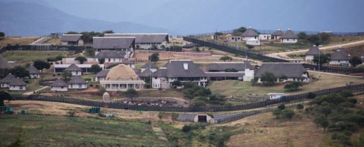 FILE: A view of the homestead of former South African President Jacob Zuma in Nkandla in January 2014. Picture: AFP.