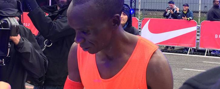 FILE: Olympic champion Eliud Kipchoge. Picture: Twitter.