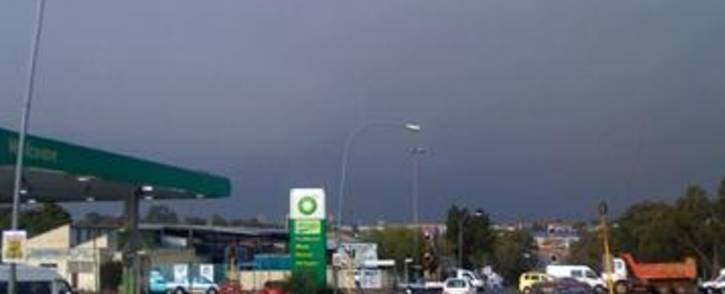 Thunderstorm passes through the northern suburbs in Johannesburg. Picture: Dewet Meyer/iWitness
